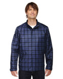88671 North End Men's Locale Lightweight City Plaid Jacket