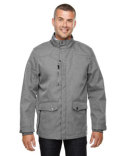 88672 North End Men's Uptown Three-Layer Light Bonded City Textured Soft Shell Jacket