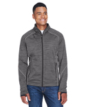 88697 Ash City - North End Sport Red Men's Flux Mélange Bonded Fleece Jacket