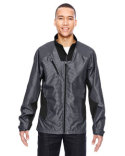 88807 North End Men's Aero Interactive Two-Tone Lightweight Jacket