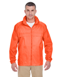 8929 UltraClub Adult Full-Zip Hooded Pack-Away Jacket
