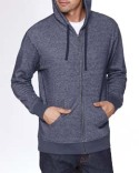 9600 Next Level Adult Denim Fleece Full-Zip Hoody