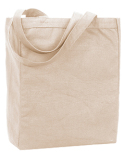 9861 Liberty Bags Allison Recycled Cotton Canvas Tote