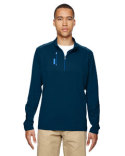 A195 adidas Golf Men's puremotion™ Mixed Media Quarter-Zip