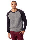 AA3202 Alternative Unisex Champ Eco-Fleece Colorblocked Sweatshirt