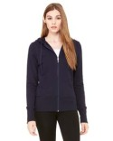 B7207 Bella + Canvas Ladies' Stretch French Terry Lounge Jacket