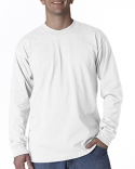 BA2955 Bayside Adult 6.1 oz., Cotton Long Sleeve T-Shirt