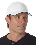 BA3621 Bayside 100% Brushed Cotton Twill Structured Sandwich Cap