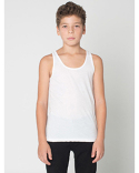 BB208W American Apparel Youth Poly-Cotton Tank