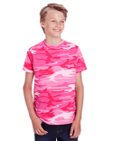 C52207 Code Five Youth Camo T-Shirt