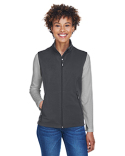 CE701W Ash City - Core 365 Ladies' Cruise Two-Layer Fleece Bonded Soft Shell Vest