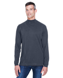 D420 Devon & Jones Adult Sueded Cotton Jersey Mock Turtleneck