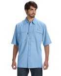DD4406 Dri Duck Men's Short-Sleeve Catch Fishing Shirt