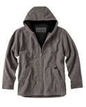 DD5090T Dri Duck Men's 100% Cotton 12 oz. Canvas/Polyester Thermal Lining Hooded Tall Laredo Jacket