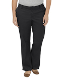 FPW221 Dickies Ladies' Plus Size Premium Relaxed Fit Straight Leg Flat Front Pant