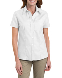FS254 Dickies Ladies' Short-Sleeve Stretch Oxford Shirt
