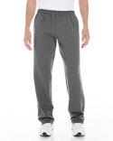 G183 Gildan Adult Heavy Blend™ Adult 8 oz. Open-Bottom Sweatpants with Pockets