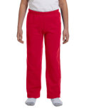 G184B Gildan Youth Heavy Blend™ 50/50 Open-Bottom Sweatpants