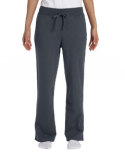 G184FL Gildan Ladies' Heavy Blend™ Ladies' 8 oz., 50/50 Open-Bottom Sweatpants