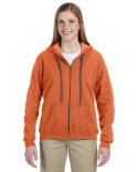G187FL Gildan Heavy Blend™ Ladies' 8 oz. Vintage Classic Full-Zip Hood