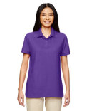 G728L Gildan Ladies' 6 oz. Double Piqué Polo