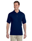 G890 Gildan Adult 6 oz., 50/50 Jersey Polo with Pocket
