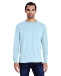 GDH200 ComfortWash by Hanes Unisex 5.5 oz., 100% Ringspun Cotton Garment-Dyed Long-Sleeve T-Shirt