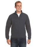 JA8634 J America Adult Heavyweight Fleece Quarter-Zip