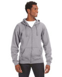 JA8821 J America Adult Premium Full-Zip Fleece Hood