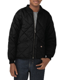 KJ242 Dickies Youth Quilted Nylon Jacket