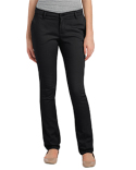 KP7718 Dickies Ladies' Juniors Schoolwear Classic Fit Straight-Leg Twill Stretch Pant