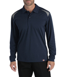 LL606 Dickies Men's Long-Sleeve Performance Polo