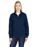 LSF95R Fruit of the Loom Ladies' 7.2 oz. Sofspun® Quarter-Zip Sweatshirt