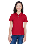 M200W Harriton Ladies' 6 oz. Ringspun Cotton Piqué Short-Sleeve Polo