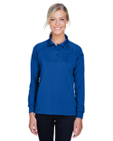 M211LW Harriton Ladies' Advantage Snag Protection Plus Long-Sleeve Tactical Polo