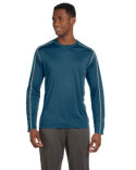 M3021 All Sport Men's Long-Sleeve Interlock Pieced T-Shirt