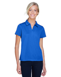 M353W Harriton Ladies' Double Mesh Polo