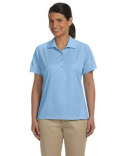M374W Harriton Ladies' 3.8 oz. Polytech Mesh Insert Polo