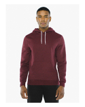 MT498W American Apparel Unisex Salt And Pepper Pullover Hooded Sweatshirt
