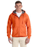 N280 Hanes Adult 7.2 oz. Nano Full-Zip Hood