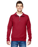 N290 Hanes Adult 7.2 oz. Nano Quarter-Zip