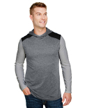 N3031 A4 Men's Tourney-Layering Sleeveless Hoodie