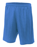 N5296 A4 Adult Nine Inch Inseam Mesh Short