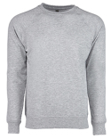 N9000 Next Level Adult French Terry Raglan Crew