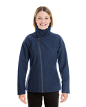 NE705W North End Ladies' Edge Soft Shell Jacket with Convertible Collar