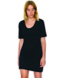 SA2314W American Apparel Ladies' Fine Jersey Short-Sleeve T-Shirt Dress