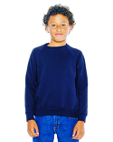 SA5254W American Apparel Youth California Fleece Raglan Sweatshirt
