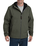 SJ377 Dickies Men's Performance Flex Soft Shell Jacket with Hood
