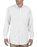 SS36T Dickies Unisex Tall Button-Down Long-Sleeve Oxford Shirt