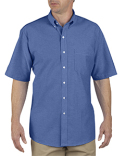 SS46 Dickies Unisex Button-Down Oxford Short-Sleeve Shirt